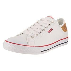 Levi's Men's Stan Buck White/Brown Casual Shoe